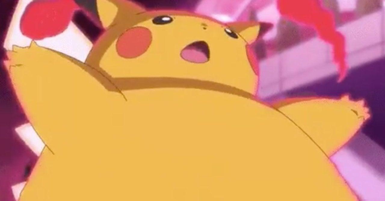 pikachu slim down)