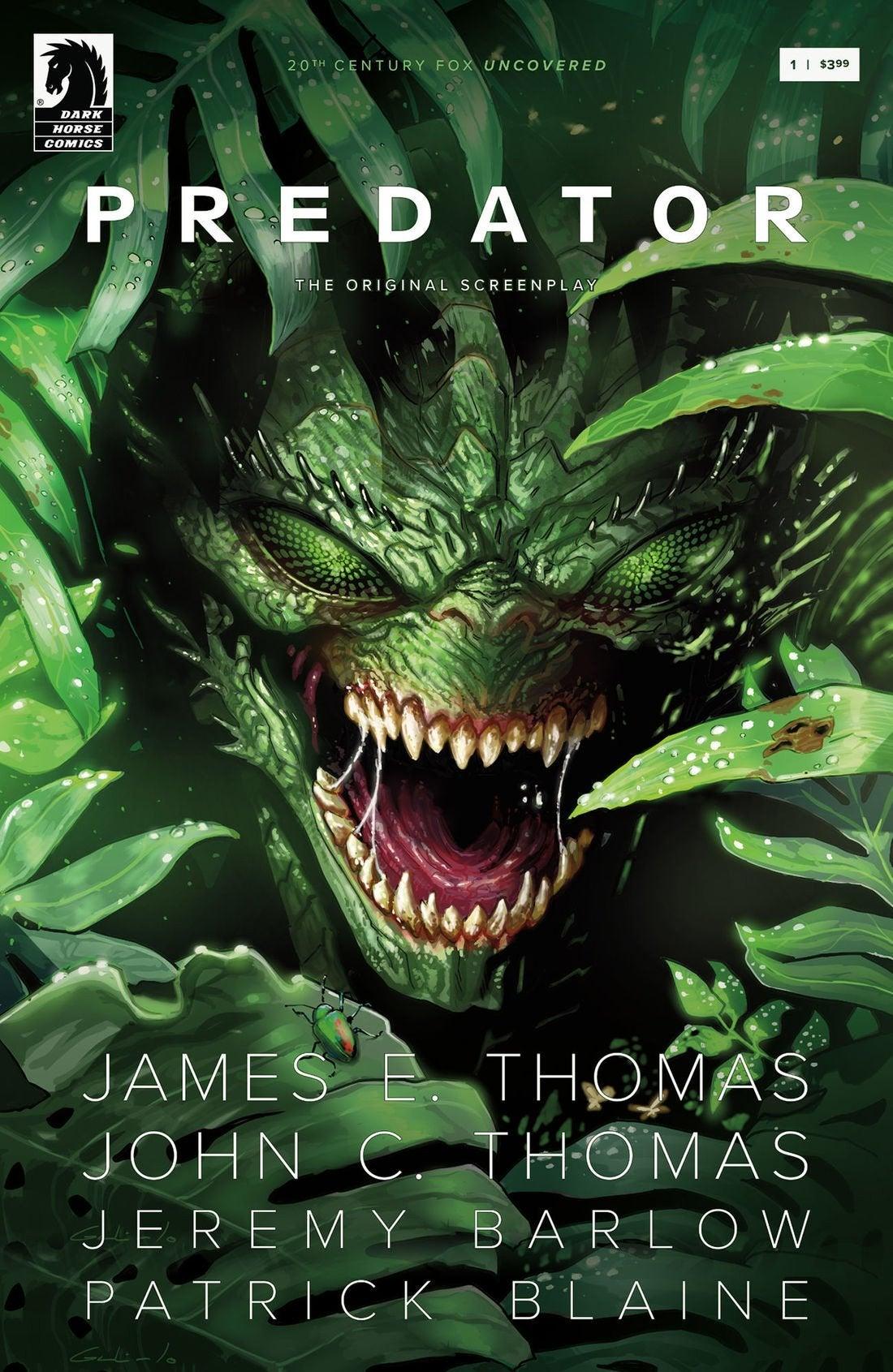predator comic book cover issue 1 dark horse