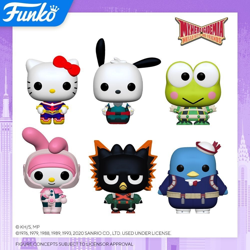 sanrio-my-hero-academia-funko-pop