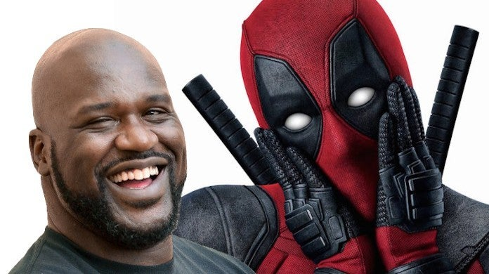 Shaq Shares Selfie with Ryan Reynolds DC Marvel Movie Crossover