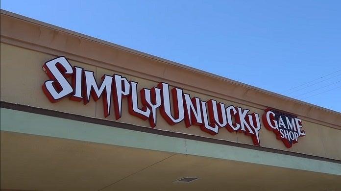 SimplyUnlucky Game Shop