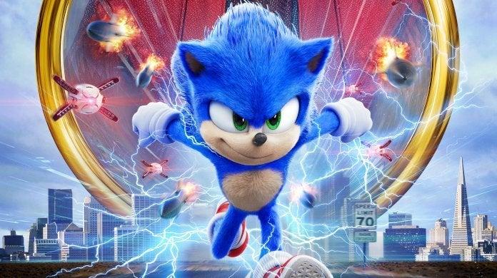 Sonic The Hedgehog Next Level Mens Vest
