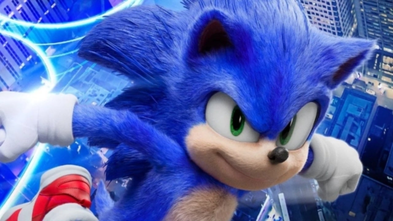 Sonic The Hedgehog Movie Concept Art Shows Original Design Sonic