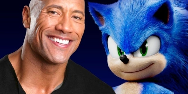 Sonic the Hedgehog Movie Dwayne Johnson comicbookcom