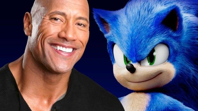 Sonic the Hedgehog Movie Dwayne Johnson comicbookcom
