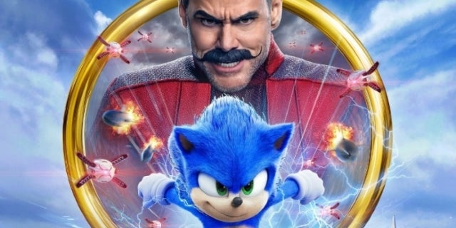Sonic the Hedgehog movie Robotnik Jim Carrey