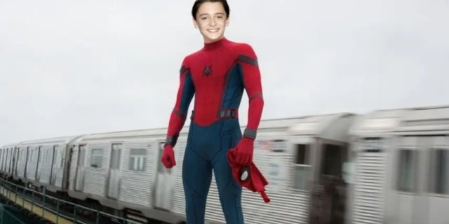 Stranger Things Star Noah Schnapp Uses Math to Estimate When He'll Replace Tom Holland as Spider-Man