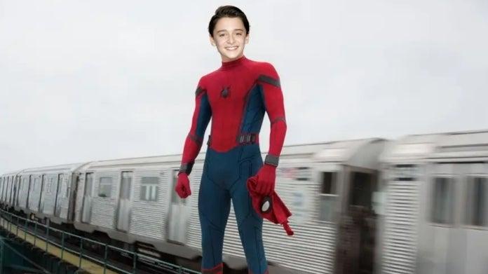 Spider-Man Tom Holland Noah Schnapp comicbookcom