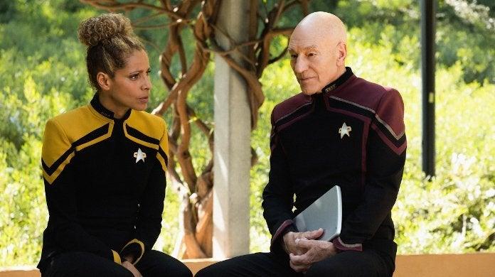 Star Trek Picard Raffi
