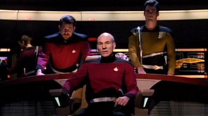 Star Trek TNG Yesterday's Enterprise