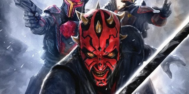 Star Wars: The Clone Wars Gets the Mauldalorian to Trend With Darth Maul's Mandalorian Conection