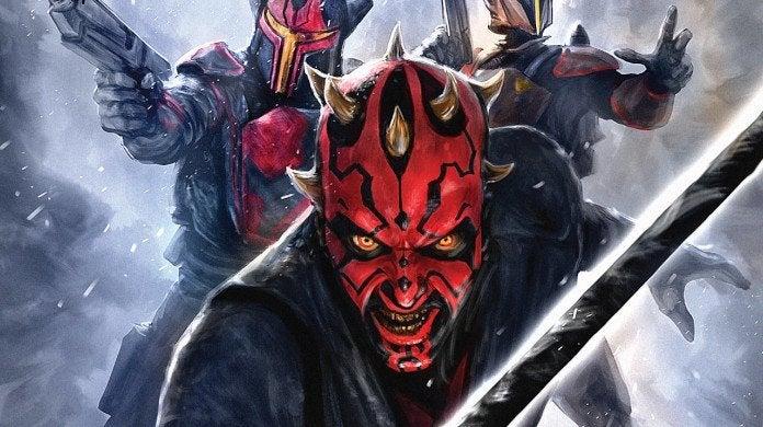 Star Wars Clone Wars Darth Maul Mandalorian
