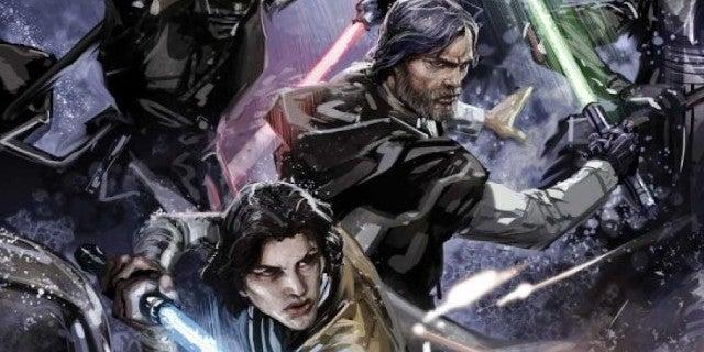 Star Wars Confirms Kylo Ren As Luke Skywalker's First Jedi Student