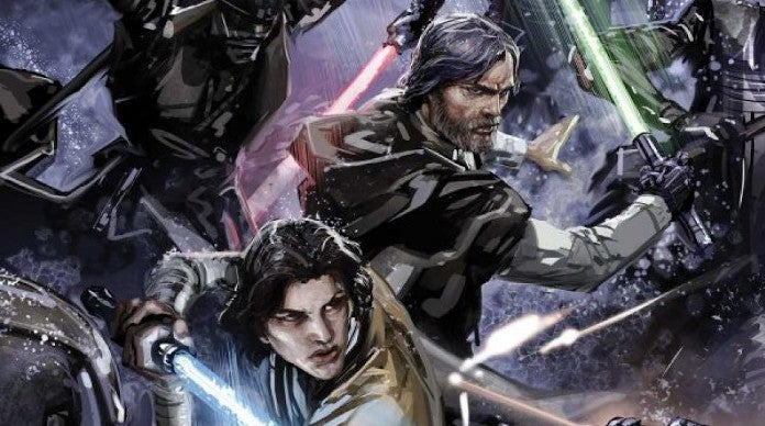 Star Wars Confirms Kylo Ren Ben Solo Luke Skywalker First Jedi Student