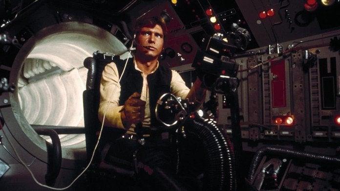 Star Wars Han Solo Harrison Ford Crew Complete Disdain