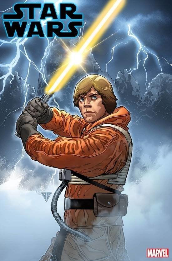 star wars issue 6 marvel comics luke skywalker