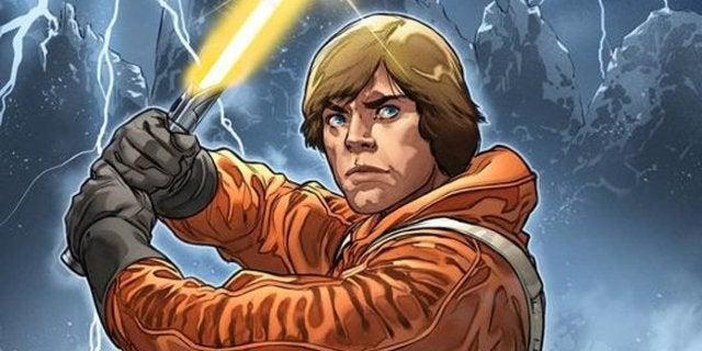 Star Wars: New Comic Reveals Luke Skywalker Briefly Wielded a Yellow Lightsaber