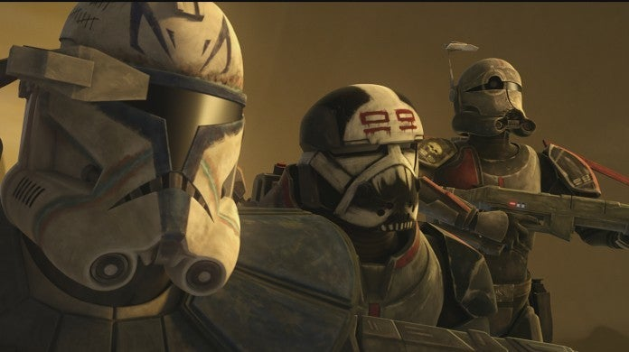 Star Wars The Clone Wars Season 7 Clips Meeting The Bad Batch