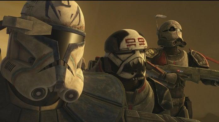 Star Wars The Clone Wars Season 7 Clips Meeting The Bad Batch