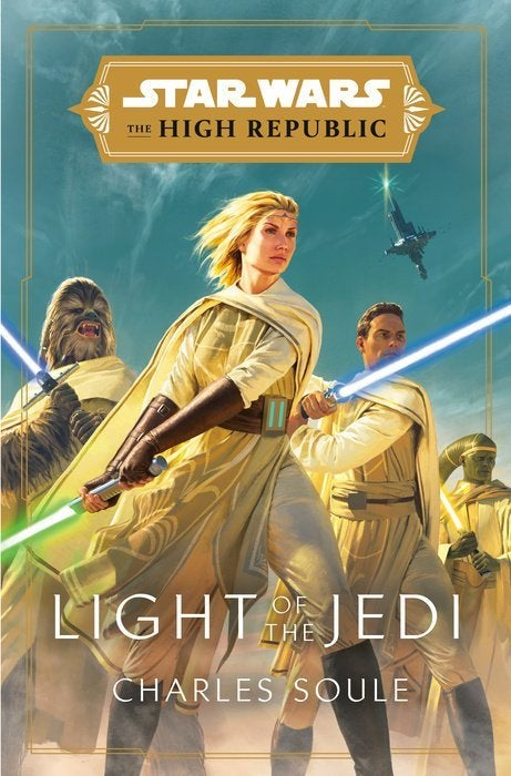 star wars a luz alta república da capa do livro jedi
