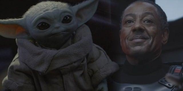 Star Wars The Mandalorian Baby Yoda Moff Gideon comicbookcom