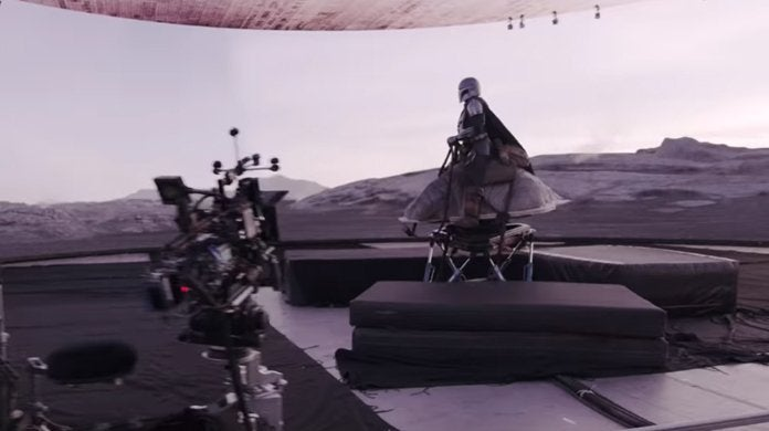 star wars the mandalorian featurette behind the scenes