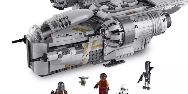 Baby Yoda Star Wars: The Mandalorian LEGO Sets Are Available Now
