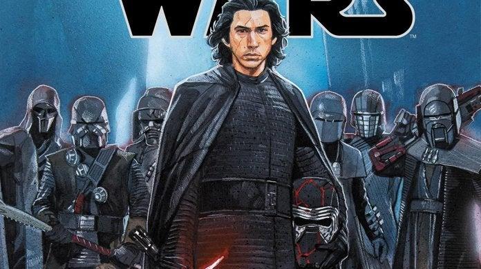star wars the rise of skywalker comic book adaptation header