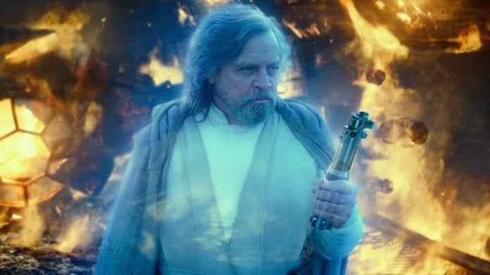 star wars the rise of skywalker mark hamill luke skywalker