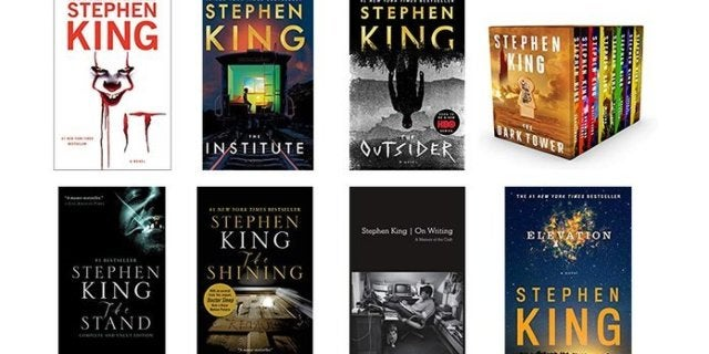 Stephen King Books Are Buy 2, Get 1 Free on Amazon
