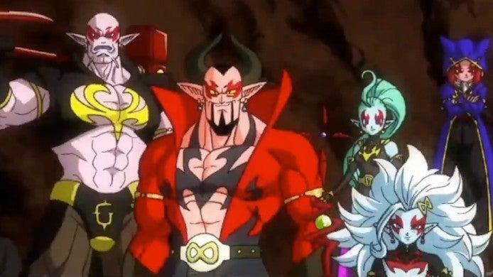 Super Dragon Ball Heroes Season 2 Demon Realm Origin Backstory Video
