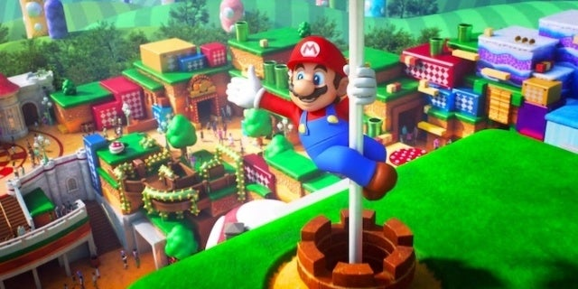 New Super Nintendo World Video Shows Moving Mario Platforms at Universal Tokyo