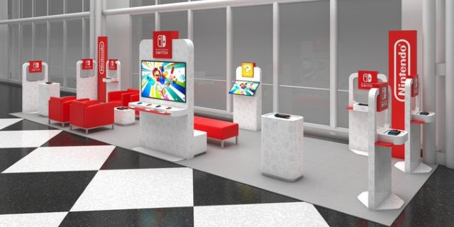 Nintendo Announces Nintendo Switch Airport Lounges