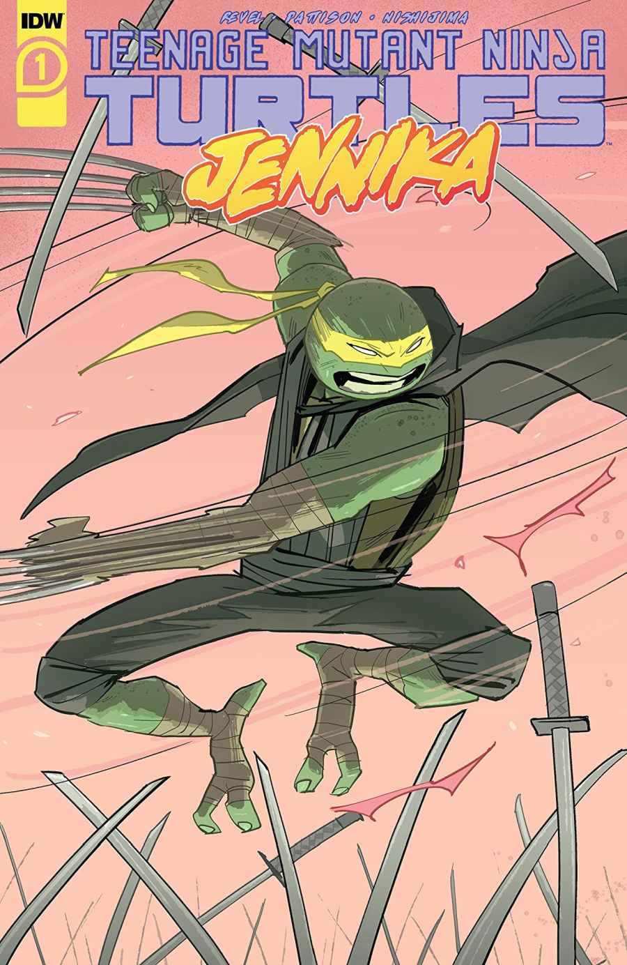 Teenage Mutant Ninja Turtles Jennika #1