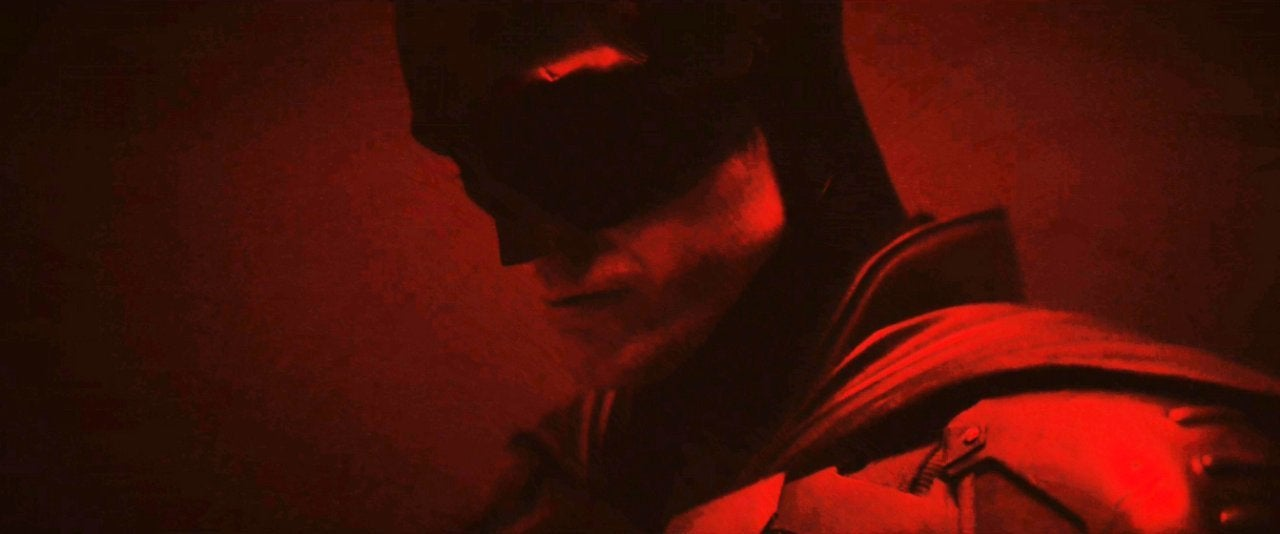 the batman costume first look brightened 1