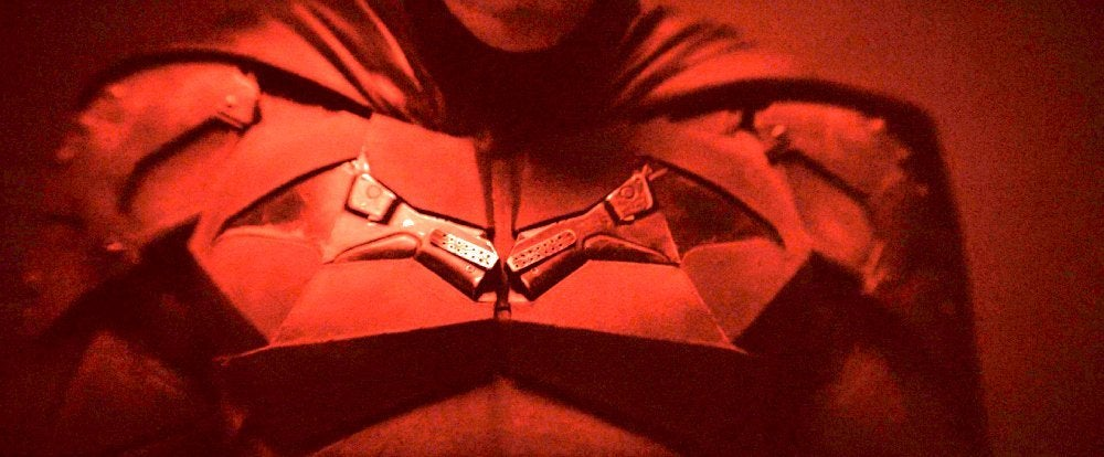 the batman costume first look brightened 2
