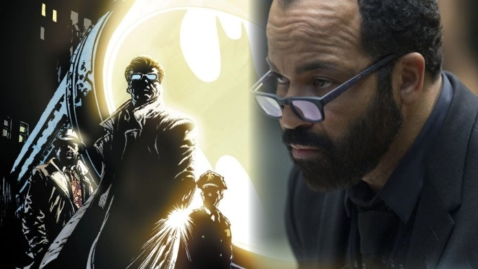 The Batman Jeffrey Wright Bat Signal