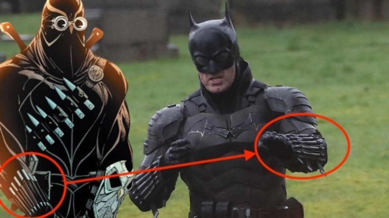 The Batman Movie Costume Draws Some Comparisons To Talon S Court Of Owls Suit