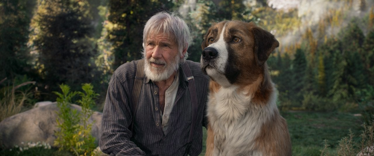 the call of the wild movie harrison ford buck