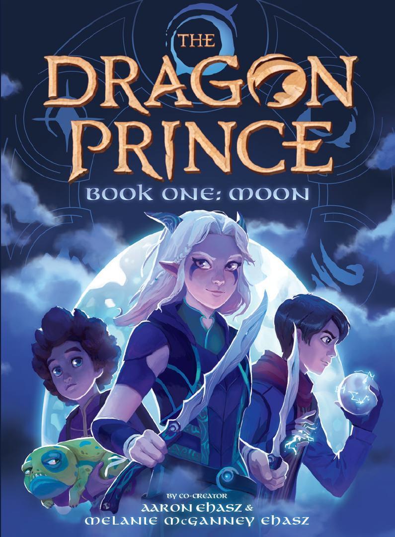 The Dragon prince Book 1 moon