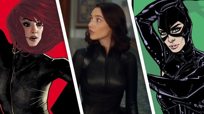 the flash sue dibny catwoman black widow