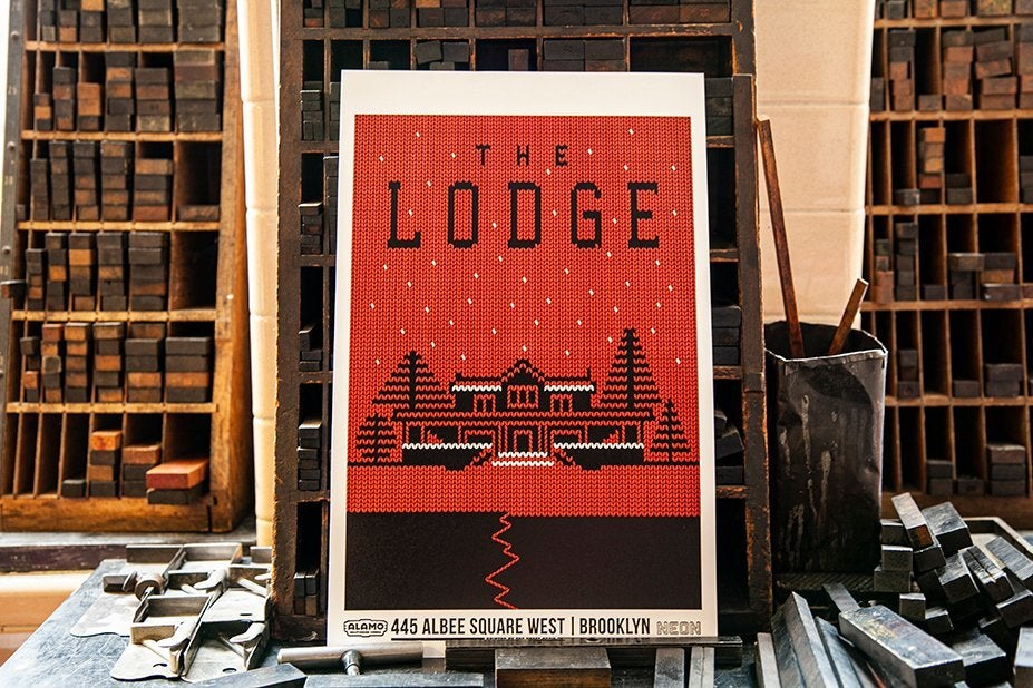 the lodge letterpress alamo drafthouse cinema