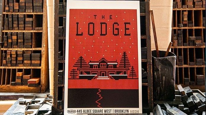 the lodge letterpress alamo drafthouse cinema header