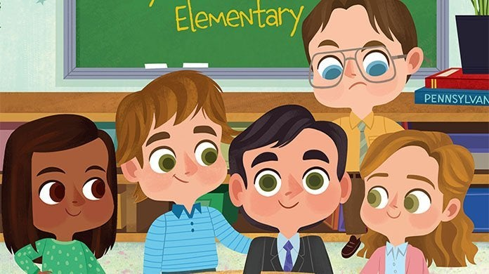 the office day at dunder mifflin elementary childrens book