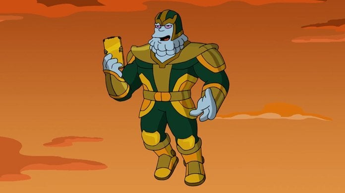 the simpsons chinos kevin feige thanos