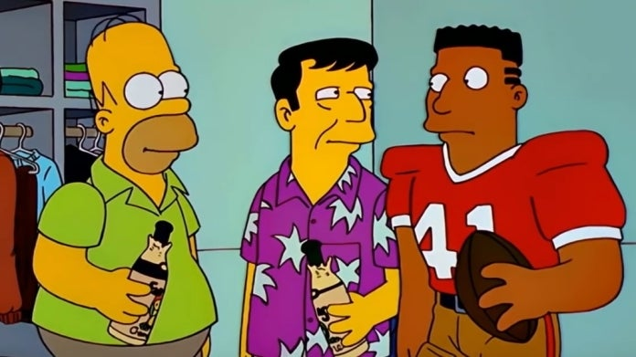 The Simpsons Super Bowl