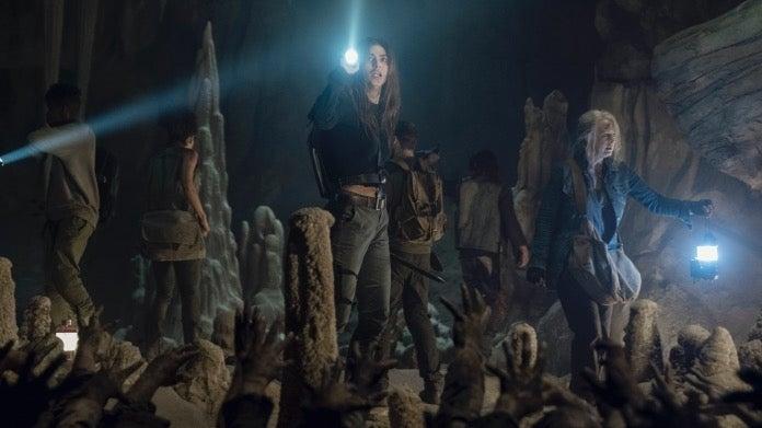 The Walking Dead 1009 Connie Carol Magna Kelly Aaron