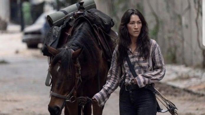 The Walking Dead 10B Yumiko