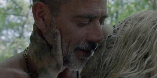 "The Walking Dead Showrunner Wasn't Sure ""Weird"" Alpha and Negan Sex Scene Could Air"