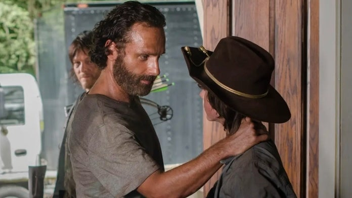 The Walking Dead Andrew Lincoln Chandler Riggs